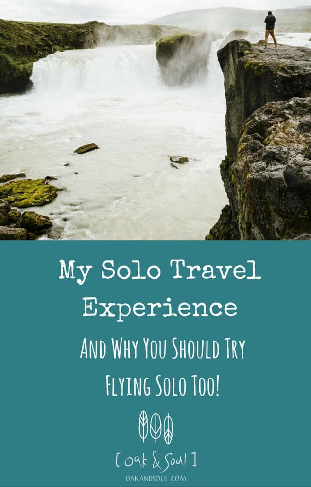 My Solo Travel Experience
