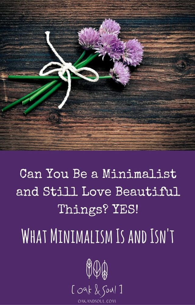 What Minimalism Is and Isn't