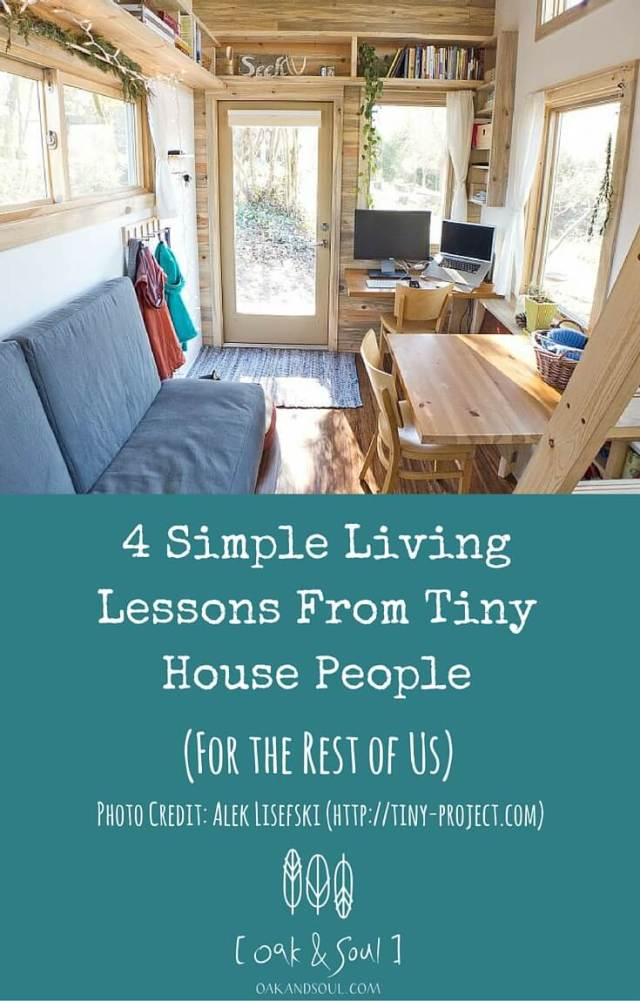 Four Simple Living Lessons From Tiny House People